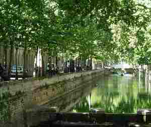 canals nimes