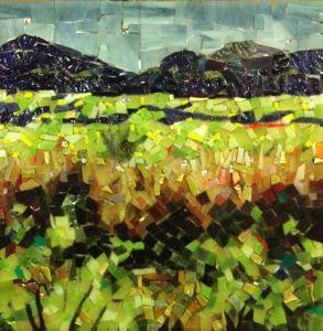 Larissa Strauss Mosaic Landscape