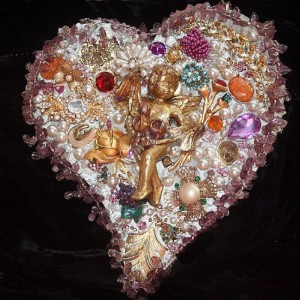 Jeweled heart stacy Alexander
