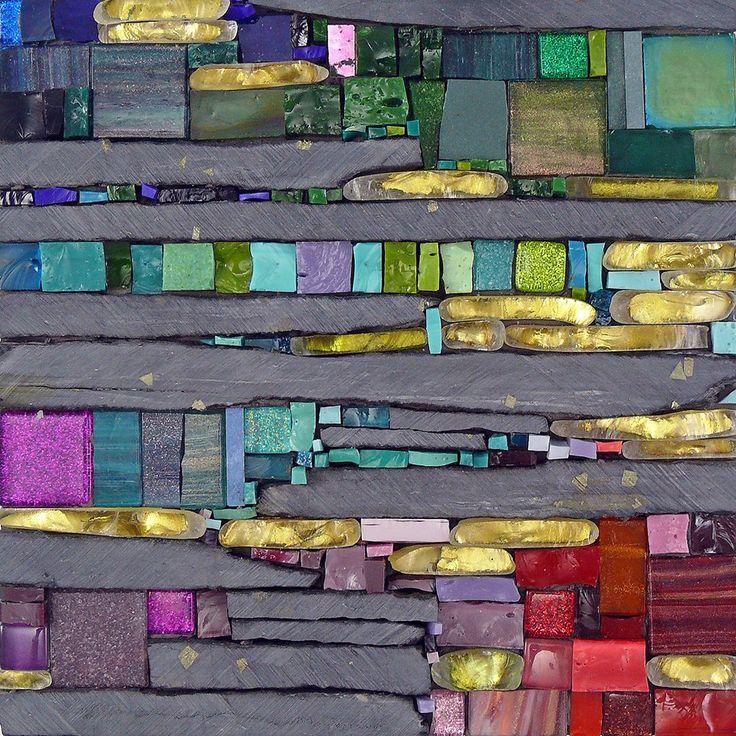 Line Mortensen mosaic art