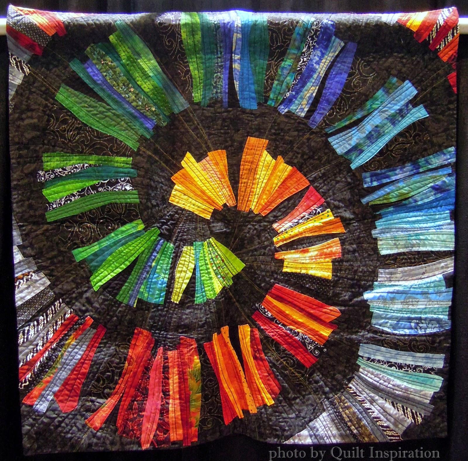 Orna Shahar mosaic quilt