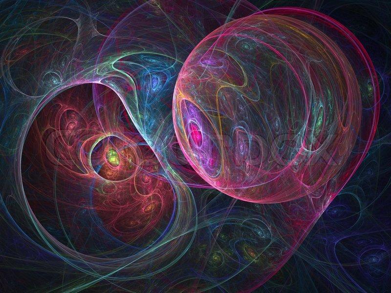fractal spider art